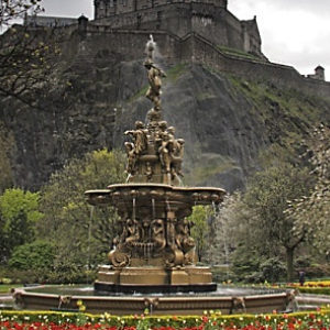 Ross Fountain Edinburgh (Scotland)